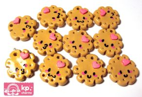 vainillla cookies by KPcharms