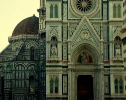 The Duomo at dusk by abrs