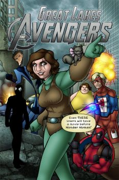 Great Lakes Avengers by TravisTheGeek