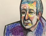 Leonard Cohen with Marker by simpleton--T