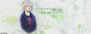 Quotes #5 : Cover V - BTS by Yu-Designer