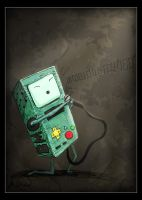 Singing BMO by Gasmorg