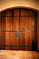 Day Spa Entrance Door by ou8nrtist2