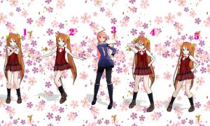 MMD Pose pack 01 by InLoveWithYaoi