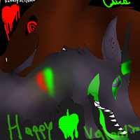 DOODLE HAPPY VALENTIMES! by ToxicBlast12