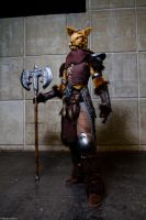Warrior Khajiit by LuceCosplay