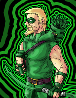 Green Arrow by Rayluaza
