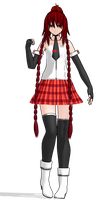 MMD Model DL - Ayilia 1.0 by Rayne-Ray