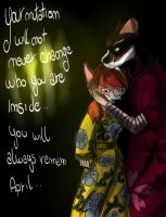 Your mutation will not never change... (coloured) by VenusdeMilo2703