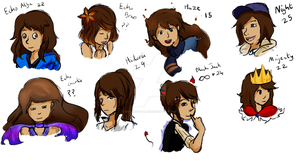 Personas by BethanyBubbles