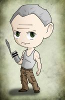 Chibi Art TWD: Merle by issue53