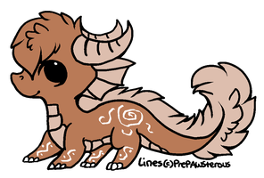 coffee dragon FREE (closed) by AdoptableMachine1000