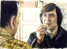 Javier Bardem commission by whu-wei