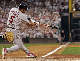 Albert Pujols by Oultre