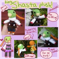 PKMNC Tiny Shasta plush!!