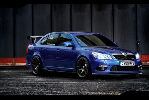 Skoda Octavia RS by EvolveKonceptz