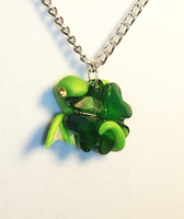 Clover Wind Drake Necklace Charms by Airy-Styles