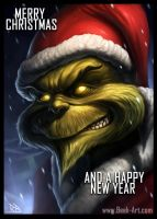 Grinch Christmas Card by RogierB