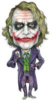 Caricature joker by AlanRodriguez