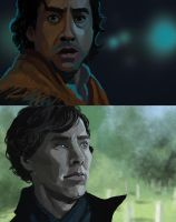 Sherlock speedpaint by julitka