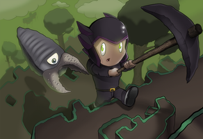 Terraria Chase by Burble93