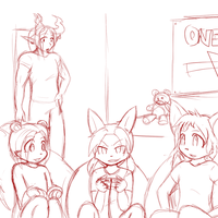 Lexi and Company: ALL THE GAMES by Okamiseinen