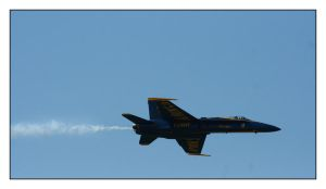 US Navy Blue Angel Number Five by ladyhawk21