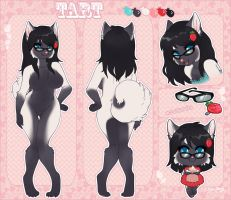 Tarty Ref Sheet Commission by thekitty