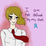 'I Am Not Defined by My Past' by LlamasMakeMeGiggle