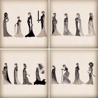 Ladies of ASoIaF by cabins