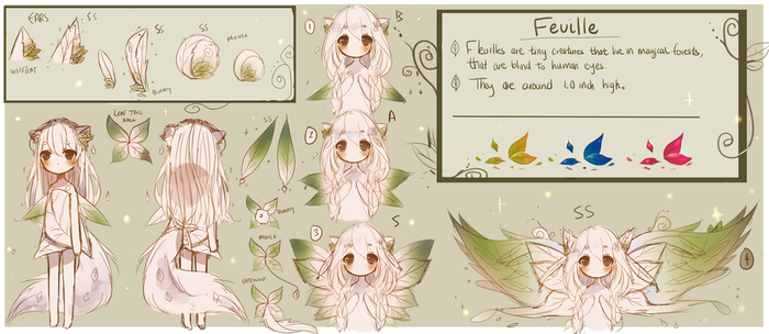 Feuille Reference Sheet by qwerhellur