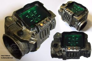 Pip-Boy 3000 Prop by MattClarke