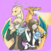 Pokemon Couple Request by TwinCandles