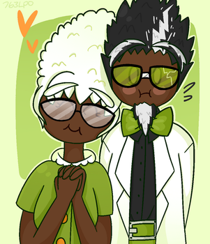 Flipline-Edna and Fitz by 763Lilypadpandaowl