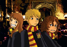 Hogwarts rogues by Chocolerian