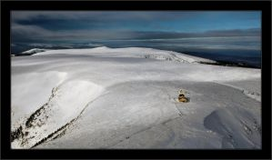 Winter view from Mt. Sniezka by Rajmund67
