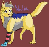 Art-trade Nalia by hakura-lives