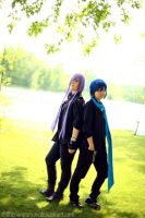 Gakupo and Kaito by thatasianperson