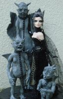 Enslavement of the Gargoyles by LabyrinthCreations