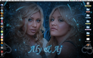 Aly and Aj by ondreamonique