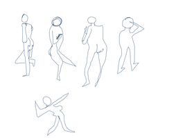 45 Sec Poses by gtstyling32