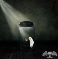 Trapped Angel by chrismyhero