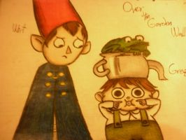 Over the Garden Wall - Wirt and Greg by cncheckit
