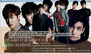 HoMin for men's club renders by BiLyBao