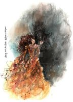 Beauty and the Beast by Songes-et-crayons