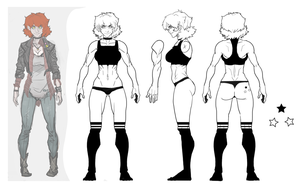 Character sheet for Claudia. by andava