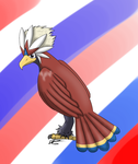 day 8 favorite flying type ::Braviary:: by payero01