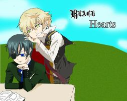 Black Hearts [Black Butler x Pandora Hearts] by cheaterboy-A