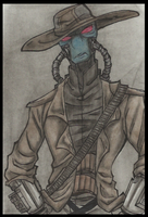 Unhappy cad bane.. by PurpleRAGE9205