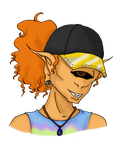 Funky Hat by child-of-aros